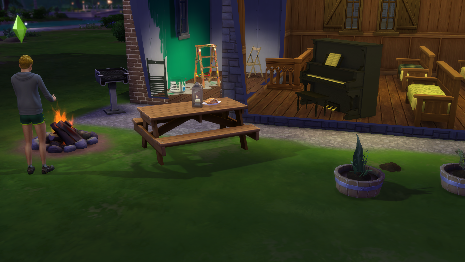 The Sims  Can T Serve Food To Work